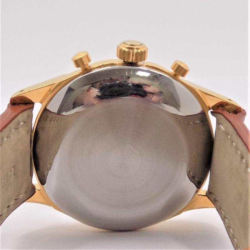 Dubey & Schaldenbrand Index Mobile Unisex Uhr 37 mm Handaufzug Edelstahl vergoldet Leder